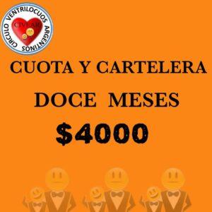 CUOTA Y CARTELERA
